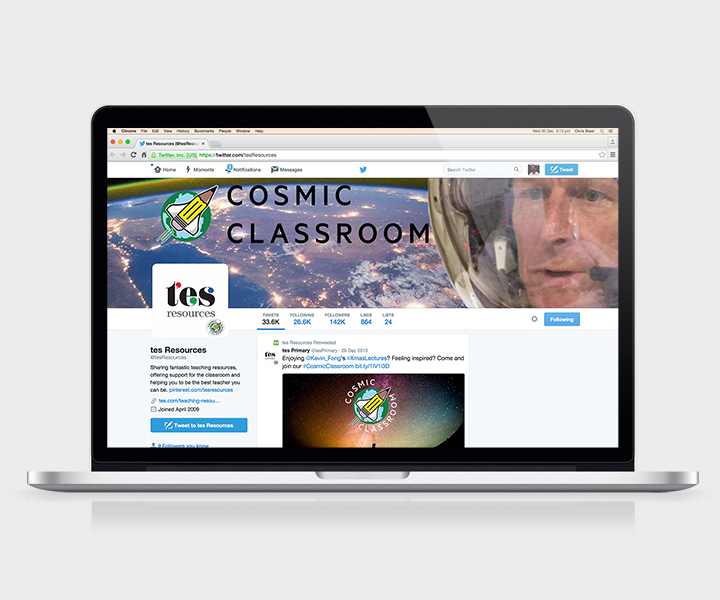 TES-CC-Twitter page