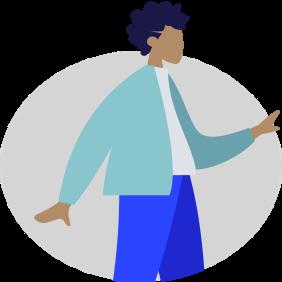 An avatar of Jo, an Overseas Office Manager